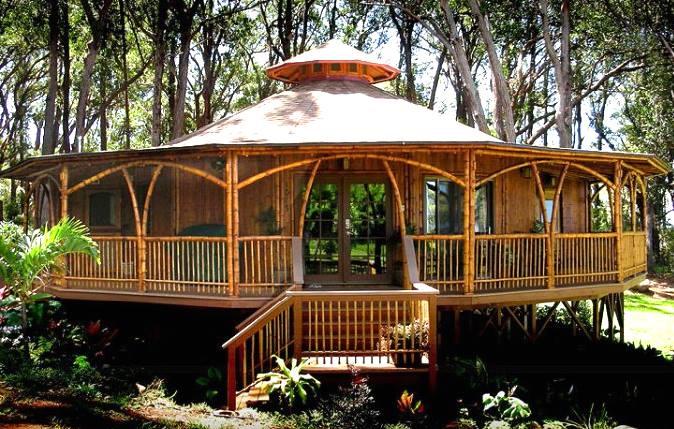 La maison en bambouEsthétique, écologique et économique, …