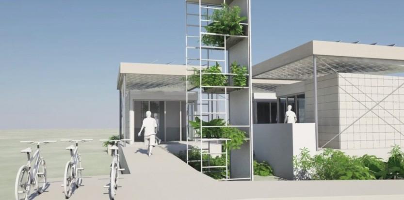 Les jeunes architectes inventent l architecture sobre et - L architecture de demain ...