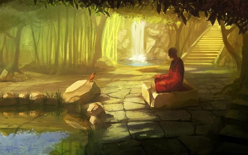Citations qui font réfléchir - Page 2 Zen-monk-fresh-hd-wallpaper-e1420359506674