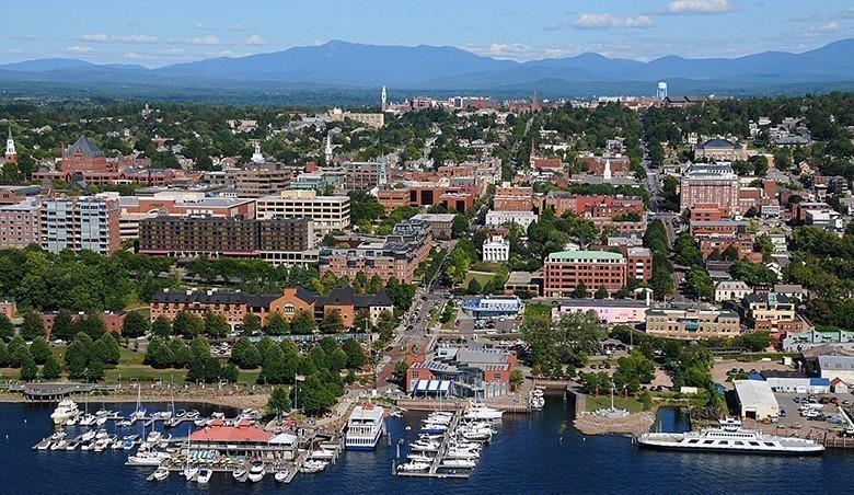 Lake Champlain Burlington, Vermont.