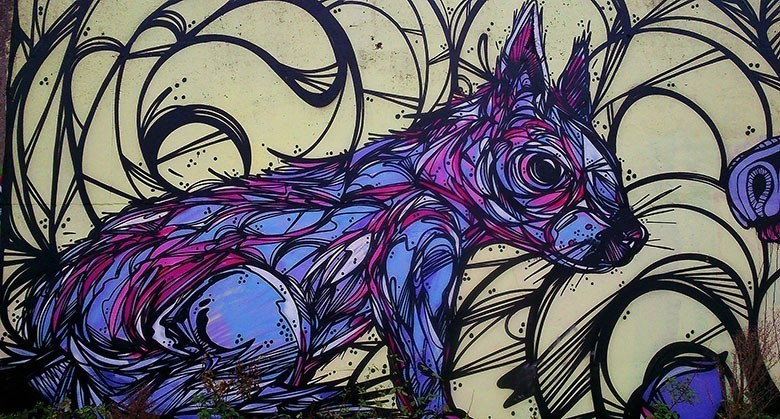 Le street-art animalier investit les rues de Belgique
