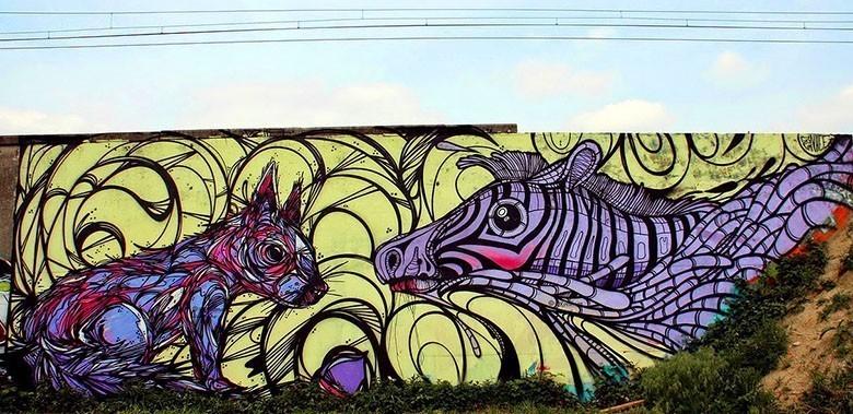 gijs vanhee en dzia krank street art sint niklaas 8