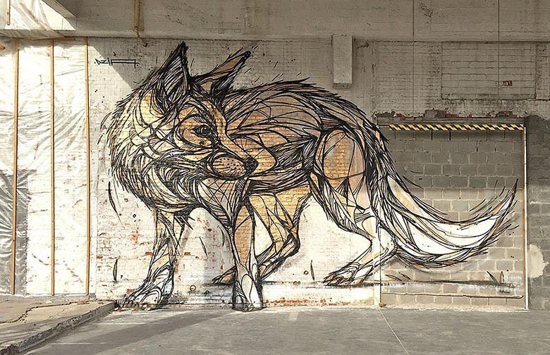 street-art-geometric-line-animals-dzia-belgium-1
