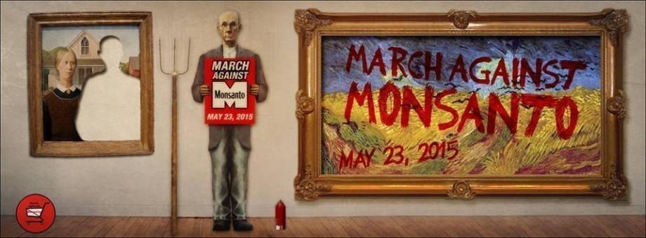 Marche mondiale contre Monsanto le 23 Mai 2015