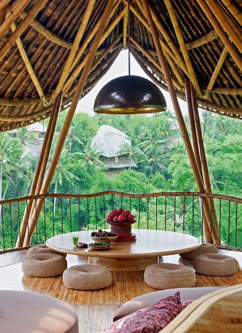 les maisons cologiques en bambou de elora hardy. Black Bedroom Furniture Sets. Home Design Ideas