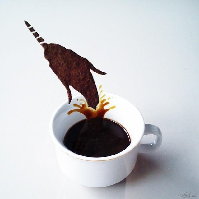 Un indonésien transforme des restes de café en œuvres exceptionnelles 10723755_1534630796780359_224952073_n