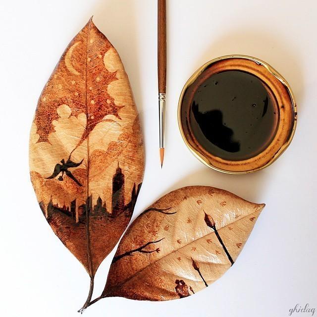 Un indonésien transforme des restes de café en œuvres exceptionnelles 11249580_1575984495995192_458357444_n
