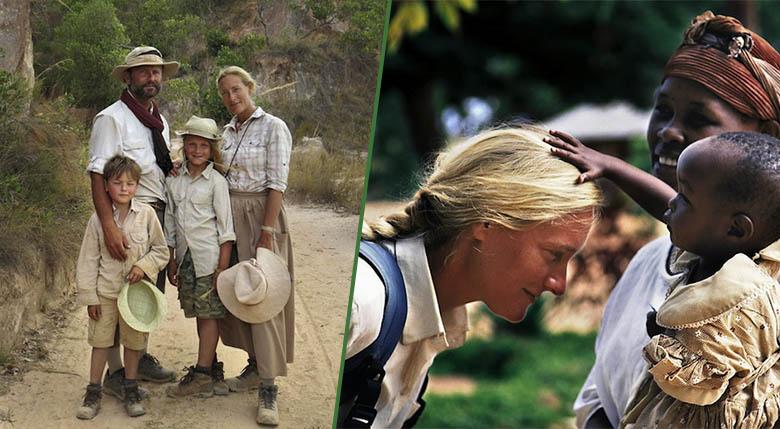 Une famille traverse à pieds Madagascar et aide les populations démunies