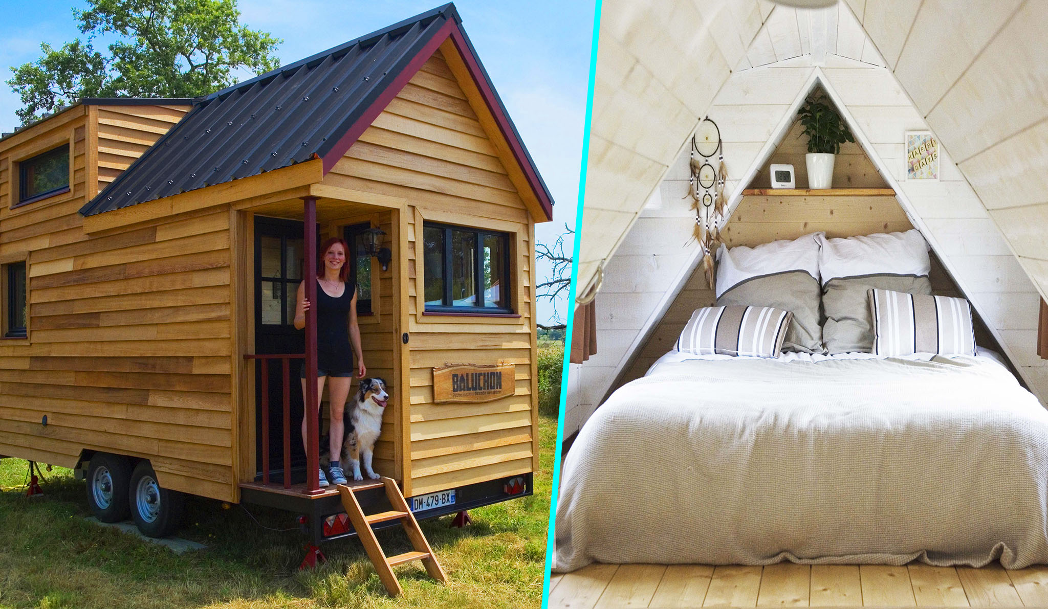 Elle cr e une tiny house fran aise et d montre que rien n for Construire sa tiny house