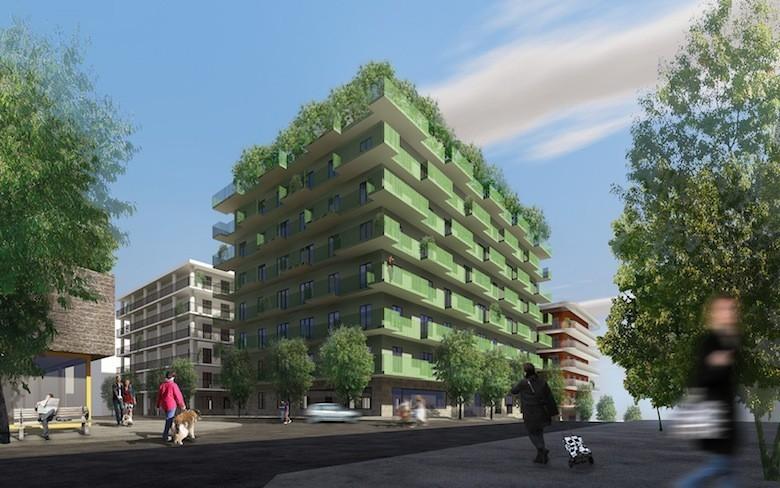 en su de une ville cologique du futur sort de terre. Black Bedroom Furniture Sets. Home Design Ideas