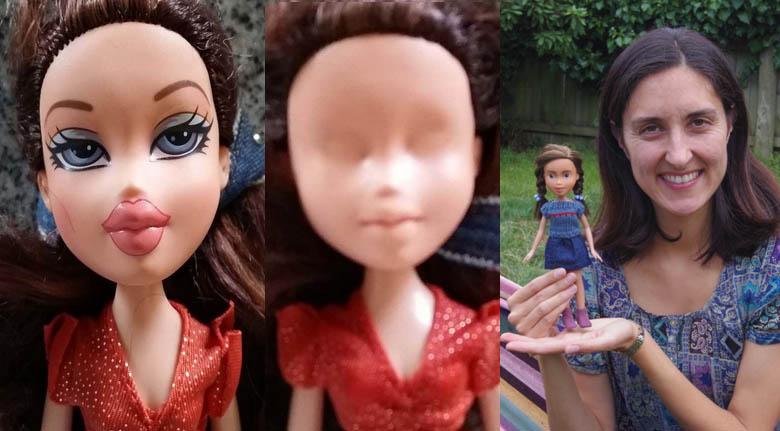 Elle défigure de vieilles poupées pour leur offrir une nouvelle vie