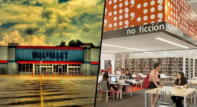 Des citoyens transforment un Walmart abandonné en haut point de la culture