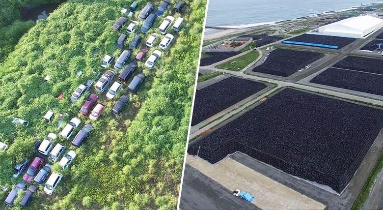 Ces photographies impressionnantes de Fukushima, 4 ans après