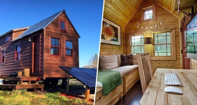 L'étonnante micro-maison en bois de Chris et Malissa Tack