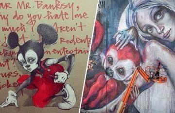 Quand deux street artists s'associent, le résultat est grandiose !