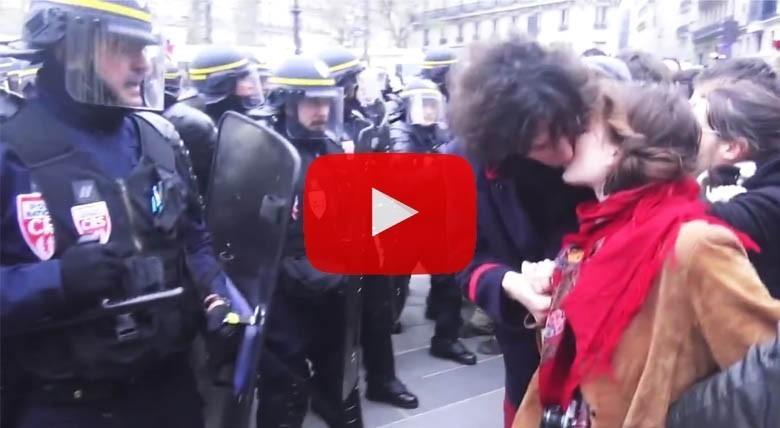 COP21: une compilation des violences policières devient virale