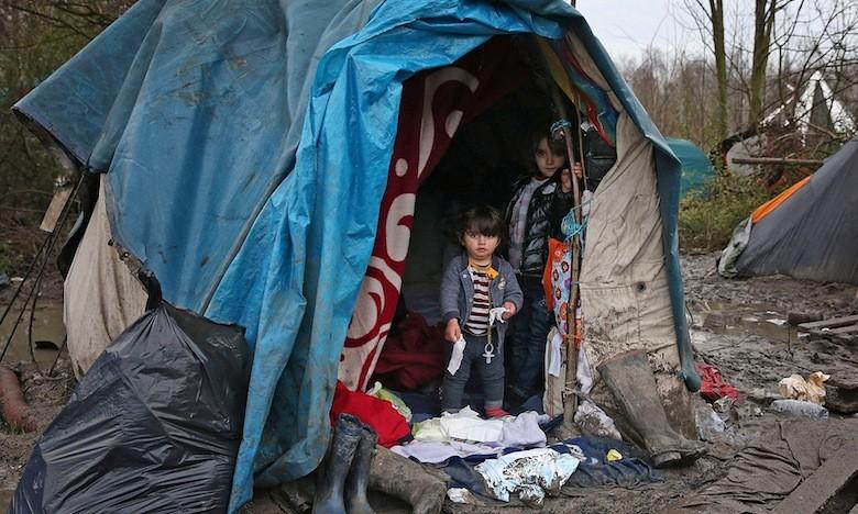 """Il a visité la """"Jungle"""" de Calais : «ce que j'ai vu me hante»"""