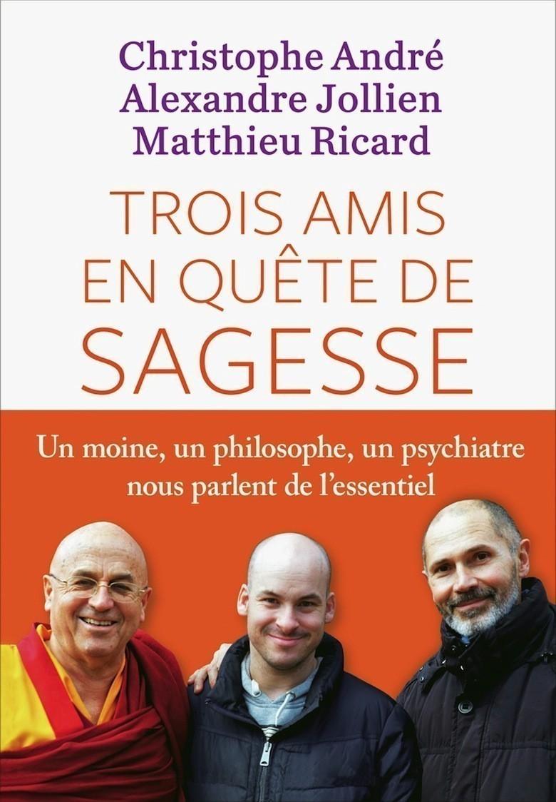 Quand un moine, un philosophe et un psychiatre nous parlent de la sagesse Trois-amis-en-quete-de-sagesse