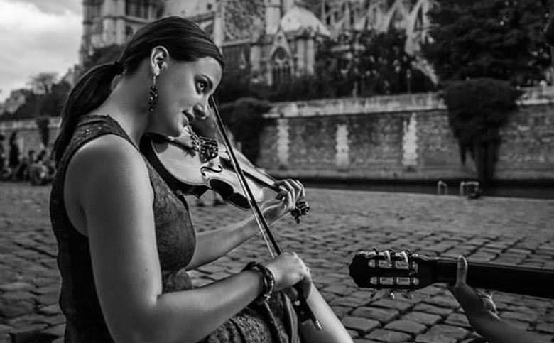 musicienne des rues