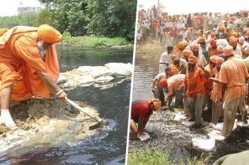Eco Baba, l'homme qui ressuscitait les rivières…