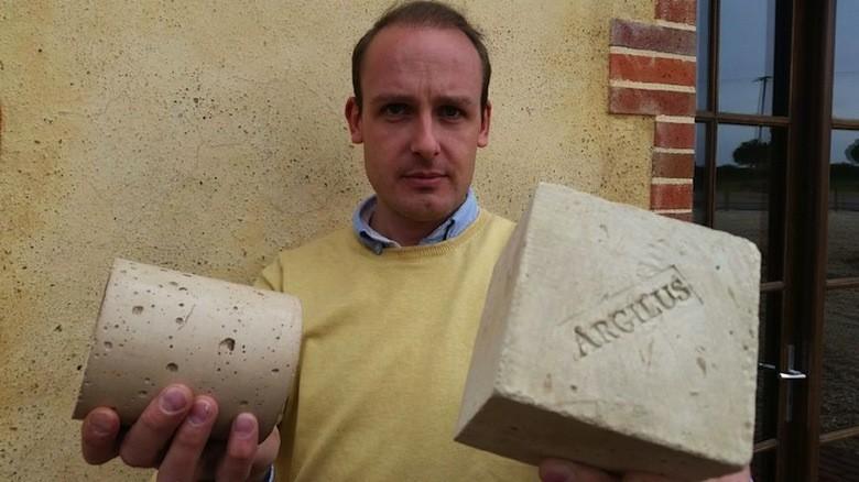 Invention écologique majeure : de l'argile aussi solide que du béton