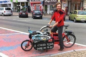 Transport de marchandises en ville : le vélo a la cote !