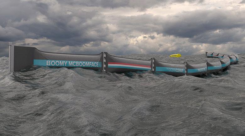 Un filtre à déchets plastiques géant est lancé en Mer du Nord