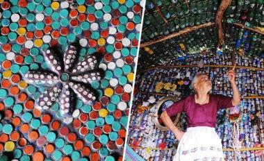 l homme qui recyclait les d chets plastiques en maisons pour sans abris mr mondialisation. Black Bedroom Furniture Sets. Home Design Ideas