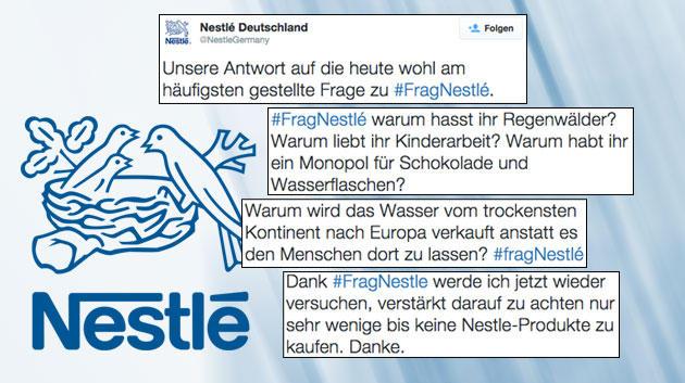 Une campagne publicitaire Nestlé tourne au cauchemar sur Twitter !