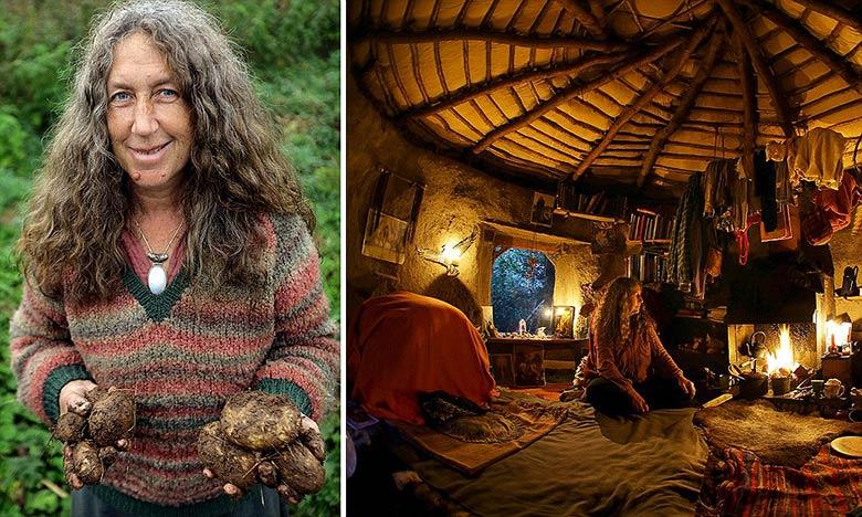 À 60 ans, elle vit comme un Hobbit en totale autarcie