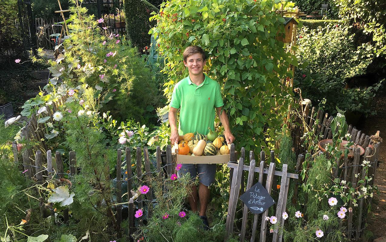 Que Faire Dans Le Potager En Fevrier les « miracles verts » de ce jeune jardinier belge sur 15m2